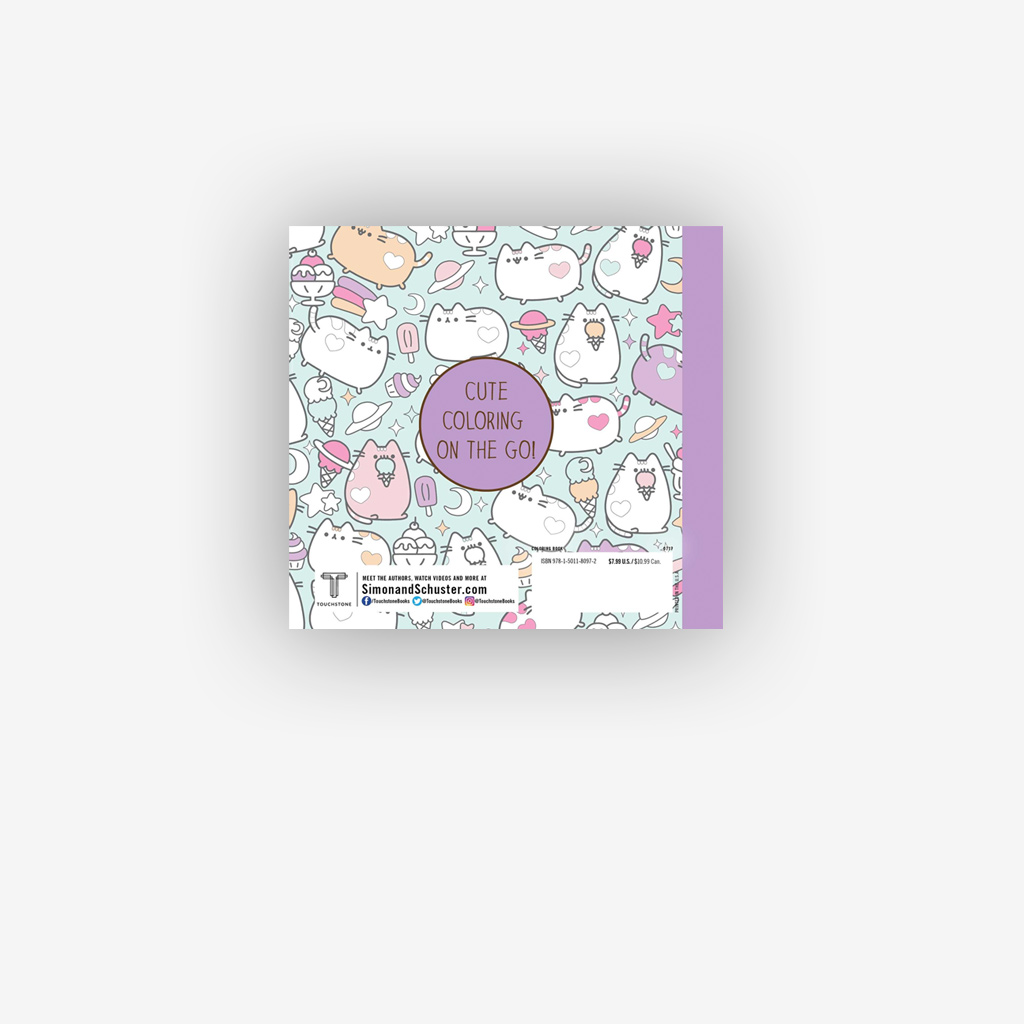 Mini Libro de Pusheen para colorear – Shaddi